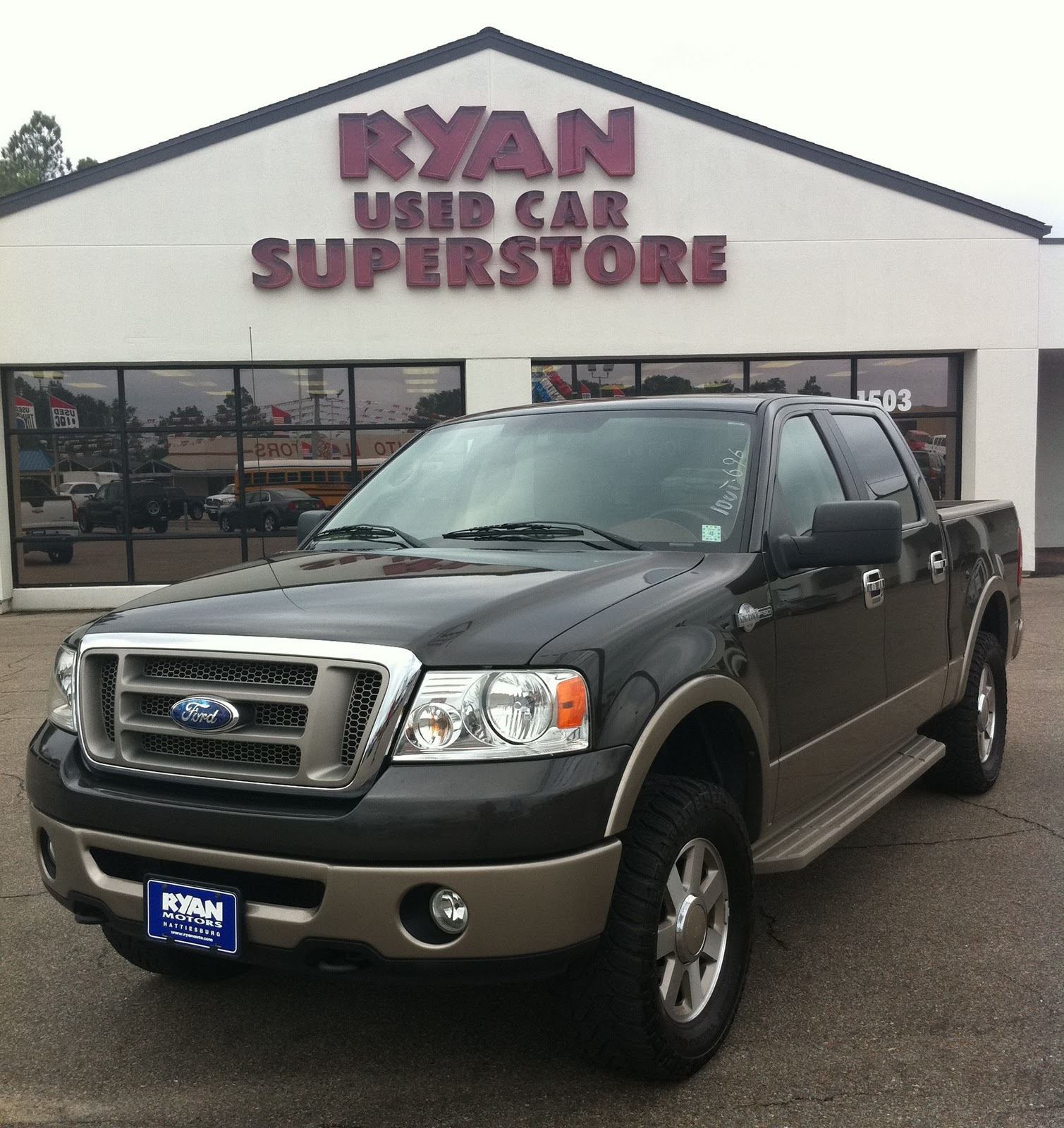First up for this week 2006 king ranch f150 crew cab it gets respect like the lion king this king ranch has four full doors and it s a really classy