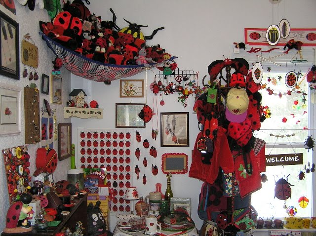 LadyBug Shop   A unique collection of ladybug gifts   much more   Ladybug  Collector LaVerne Goes Ladybug Crazy. LadyBug Shop   A unique collection of ladybug gifts   much more