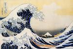 KANAGAWA-OKI NAMI-URA (Hokusai,1831)