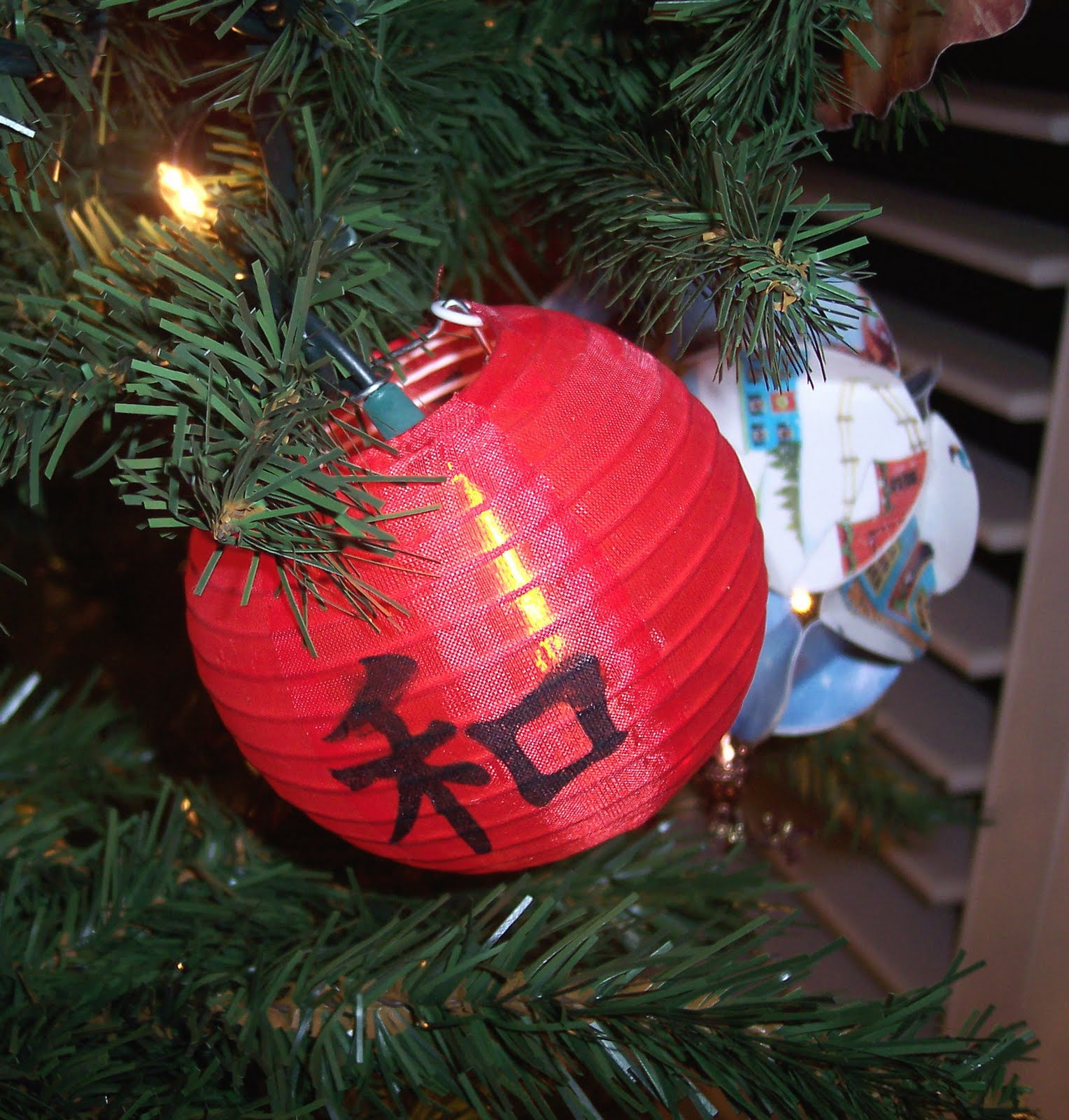 Christmas Ornaments In China : Adoptiontalk a touch of china christmas tree