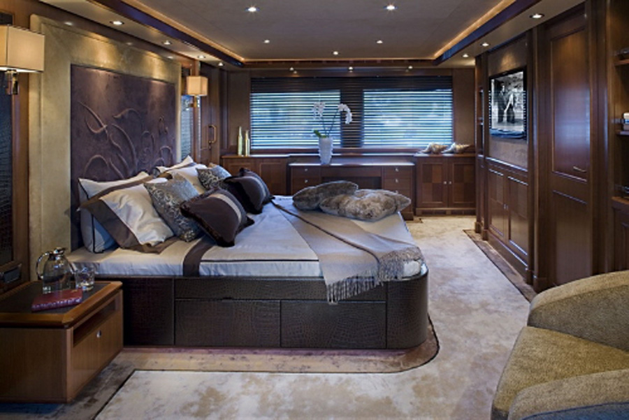 Luxury Yacht Bedroom Interiors
