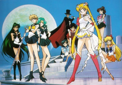 cartoon world: 'transcreating' cartoon characters. Remember when Sailor Moon