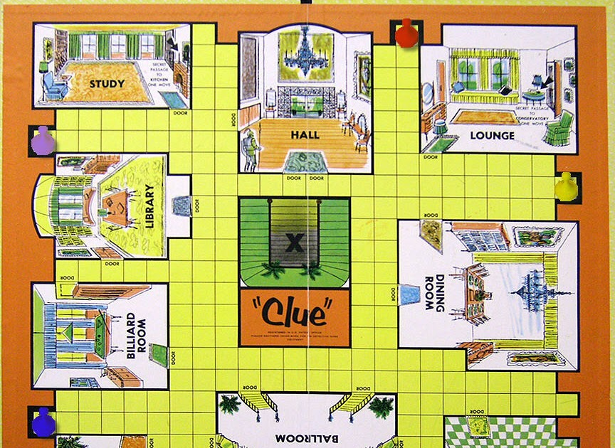 Clue Game Arena Part 2 Board Games Blog