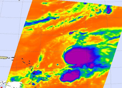 AIRS image of Tropical Storm Henri