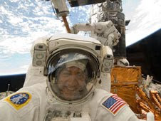 Astronaut Mike Massimino, STS-125 mission specialist