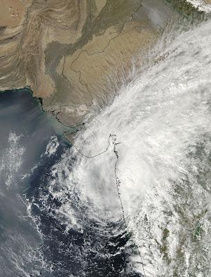 MODIS image of Phyan