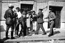 Unidad antidisturbios de los años 70.