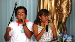 Los conductore del evento