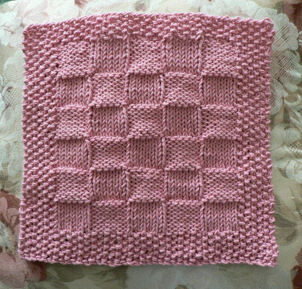 Dishcloth Knitting Patterns Awesome Design Ideas