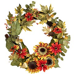 Sunflower Wreath from Pier 1