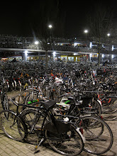 Crazy Utrecht Bike Parking Lot.