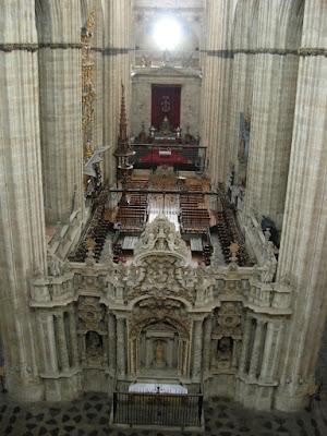 interior catedral nueva salamanca