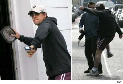 Hugh Grant arrested for baked bean attack