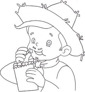 Desenhos para colorir de festa junina para vocês pegos no google