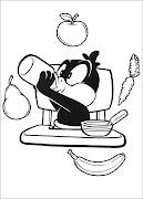 Desenhos para colorir do PatolinoBabys Looney Tunes para imprimir e .