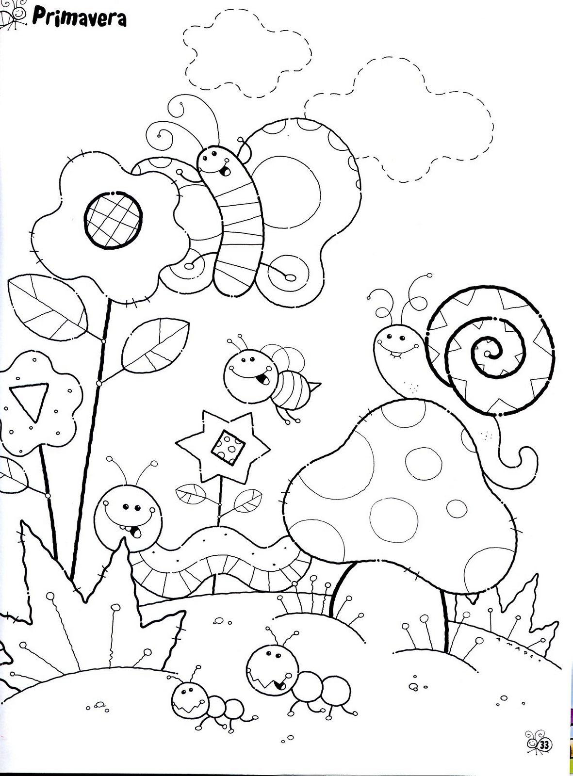 Para Imprimir E Colorir Diversos Desenhos De Caracol Para Imprimir E