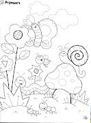Diversos desenhos de caracol para imprimir e colorir (caracol primavera )