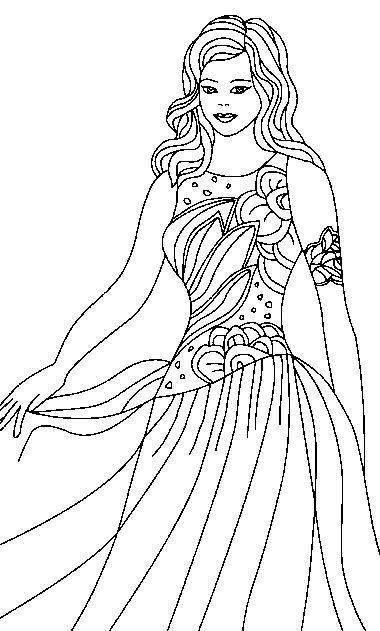 Princesas Para Colorir Detailed Princess Coloring Pages Printable