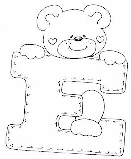Alfabeto de ursinhos