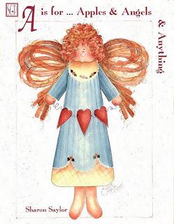 Desenhos Para Pintar Anjo colorido