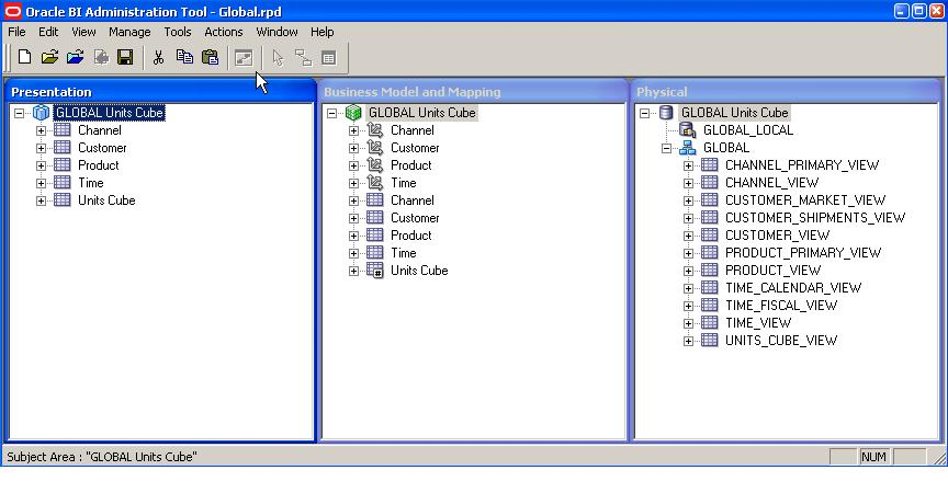 Oracle OLAP: A first look at OBIEE 11g with Oracle OLAP
