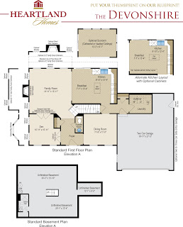 Heartland homes introducing the yorkshire and the for Heartland homes pittsburgh floor plans
