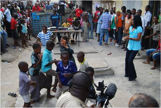 nollywood film shooting fight ilorin