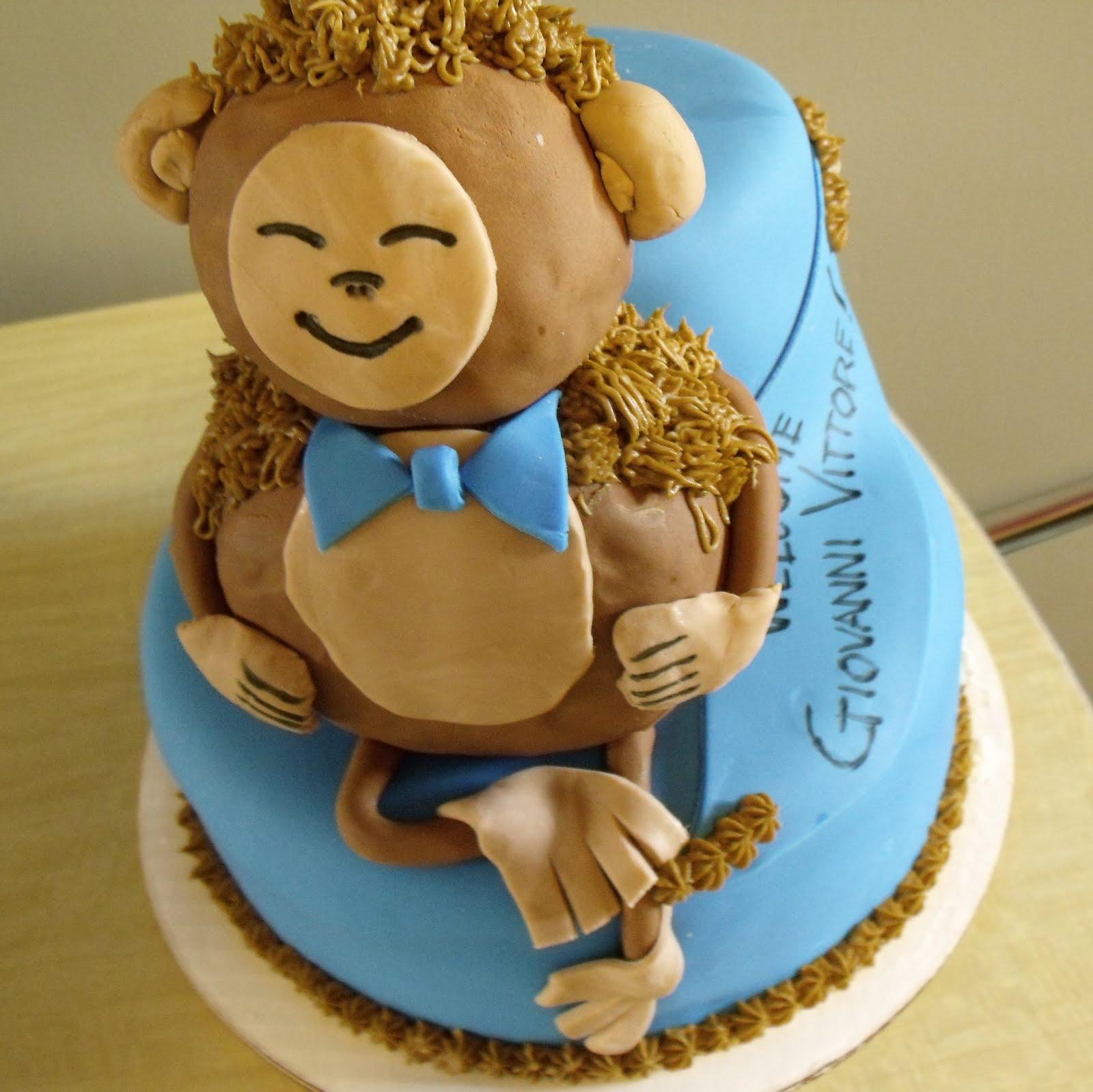 Cup Adelphia Monkey Cake For Baby Shower