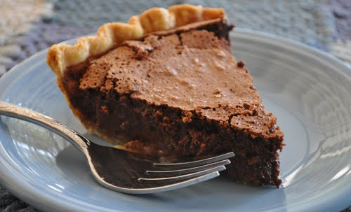 Cooking with Karin: Chocolate Buttermilk Pie