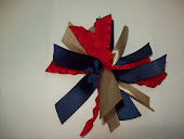 Spikey Bow (School uniform colors available)