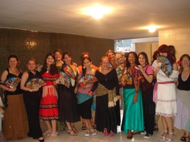 As espanholitas da família Torneros, no Rio de Janeirro, Brasil