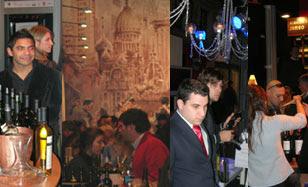 Visita de Mr. Wines a Vinos y Bodegas 2009