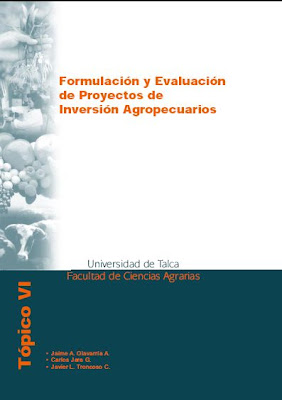 Formulación y Evaluación de Proyectos Agropecuarios