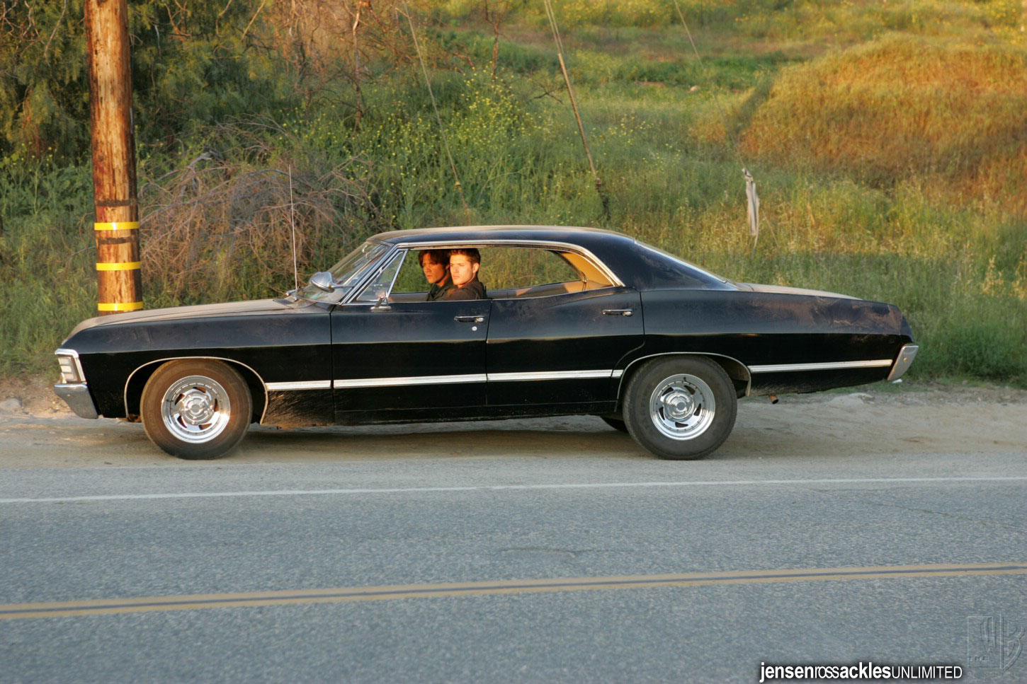 Wallpaper Wallpaper Chevy Impala 67