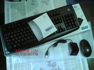 Logitech Deluxe 660 Cordless Keyboard
