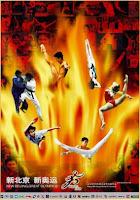 Un dels cartells de Pekin 2008 on apareix el Judo