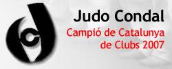 Judo Condal, Campió de Catalunya de Clubs, 2007