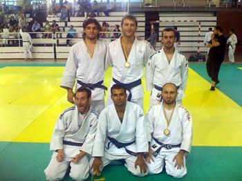 Integrants de l'equip del Judo Condal, Campió de Catalunya
