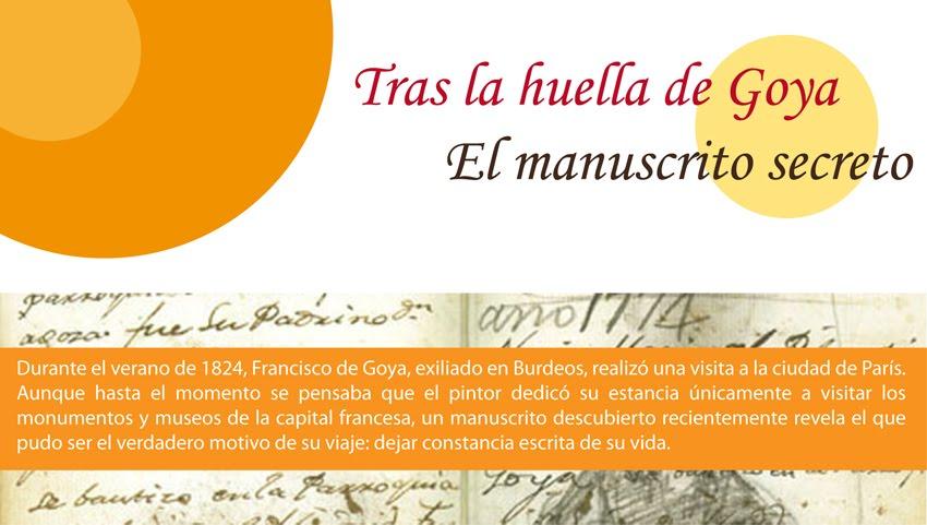 El manuscrito secreto de Goya
