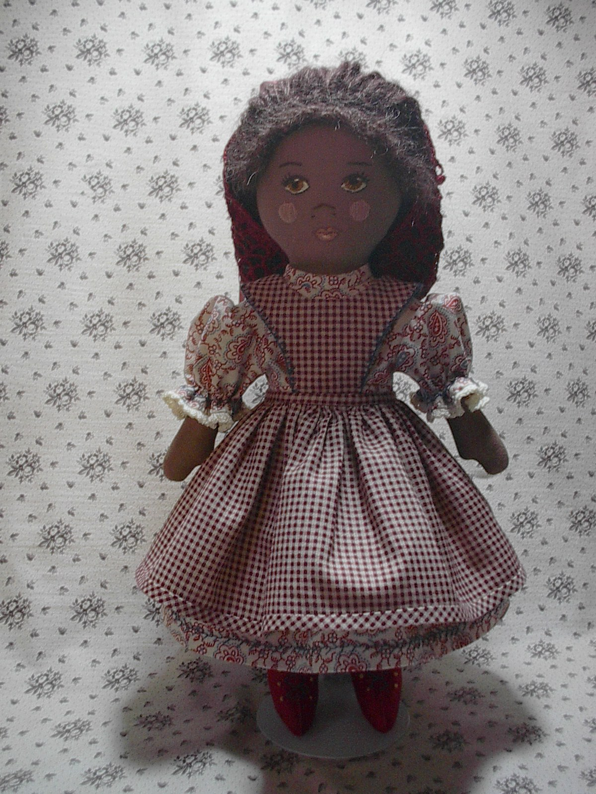 ... cloth doll i called prairie flowers she is a simple cloth doll 11 1 2
