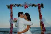 . Florida area. This is ideal for beach weddings and we offer tiki torches . (beach wedding arch)