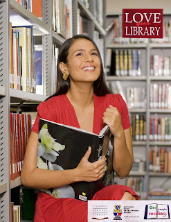 Iza Calzado, Love Your Library, National Book Development Board