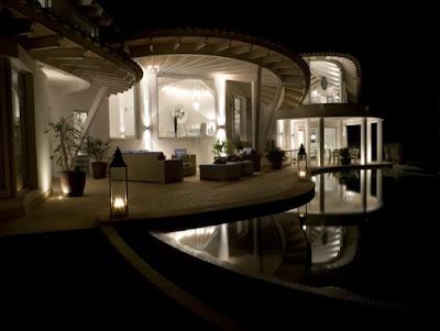 Luxury  Villa Natural Scheme
