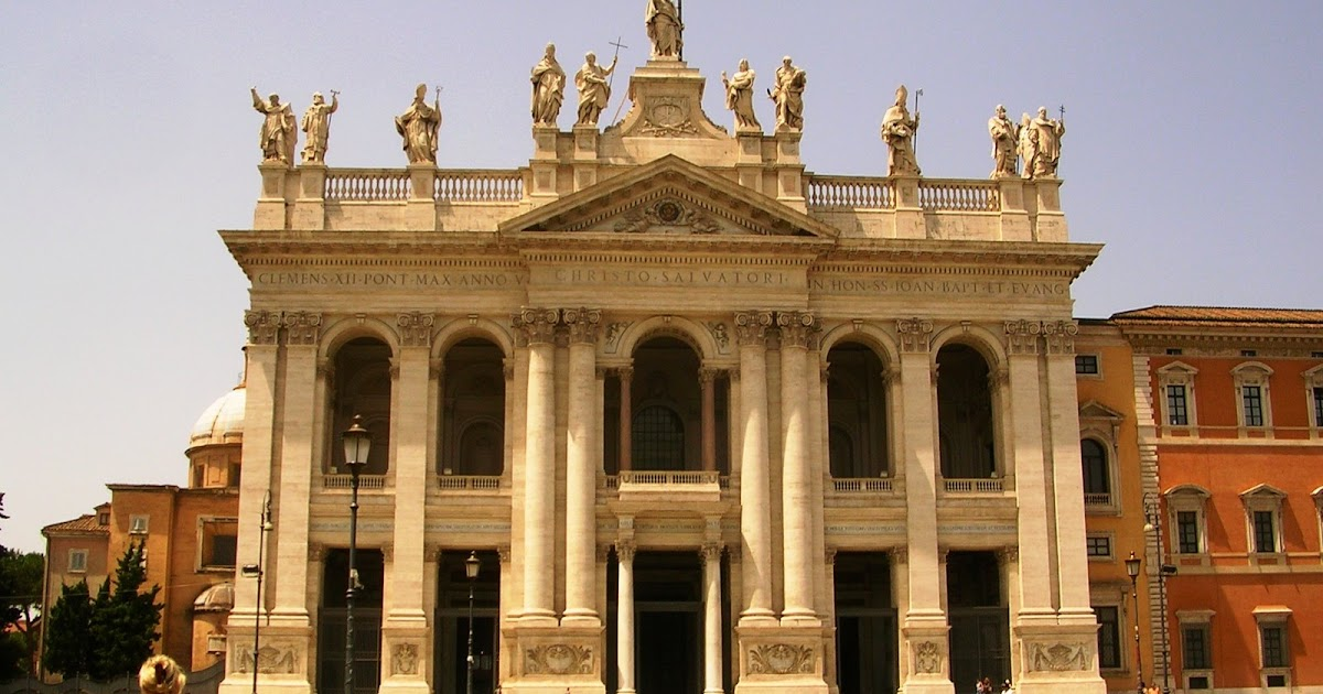 Edwards in Greece: The Basilica of St John Lateran