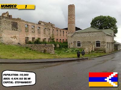 Nagorno Karabakh 10 negara yang tidak diakui dunia