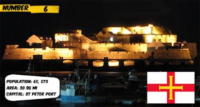 Guernsey 10 negara yang tidak diakui dunia
