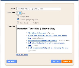 Membuat Widget Recent Comment di Blogger