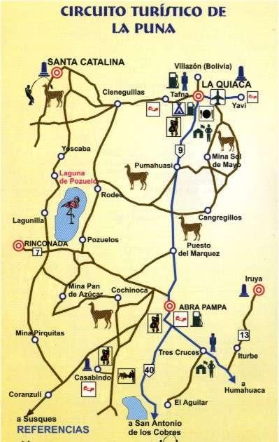 Circuito Turistico : Noroeste argentino quot la puna circuito turístico de