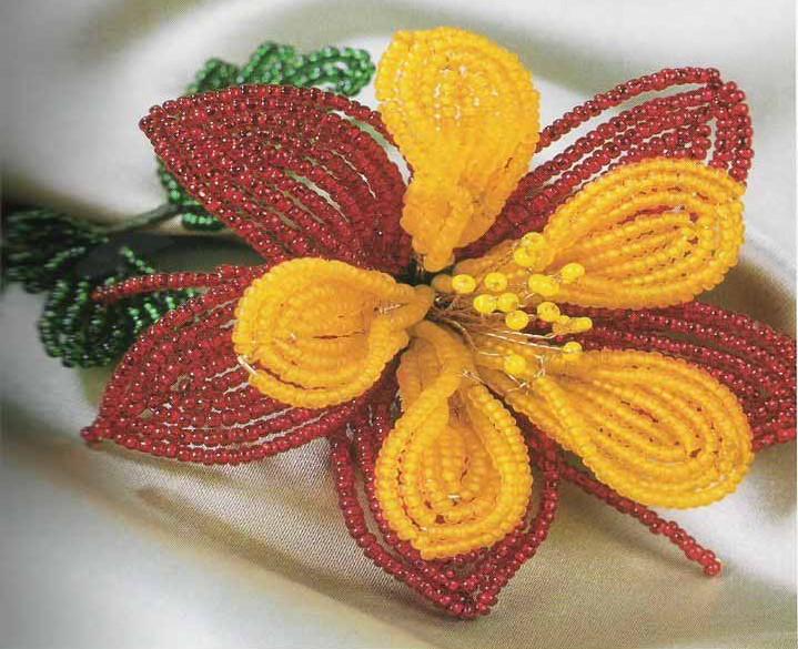Ebook tutorial membuat bunga-bungaan dari kertas, kain, manik-manik