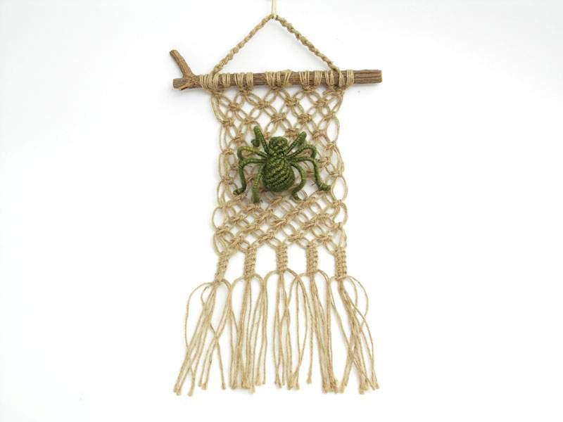 MAKRAME - Seni Kerajinan Memanfaatkan tali dan benang untuk membuat